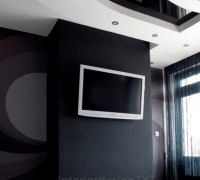 Black and whie room