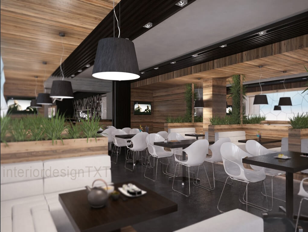 Bar Restaurant Interior Design Txt