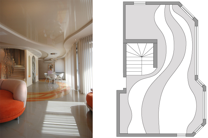 Dizain na tavan