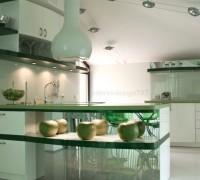Kuhnia v zeleno