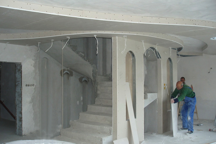 Konstrukzii gipscarton