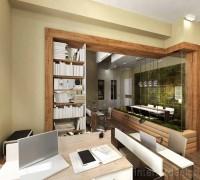 Small office interior
