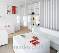 White office interior